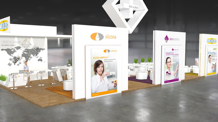 messestand design für keim