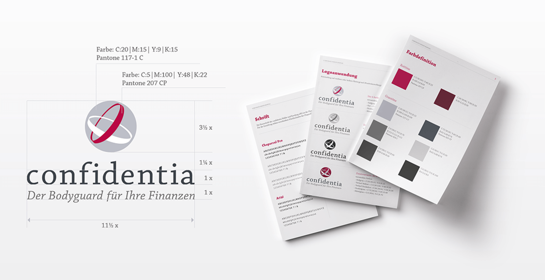 Brand Design Agentur - Referenz confidentia