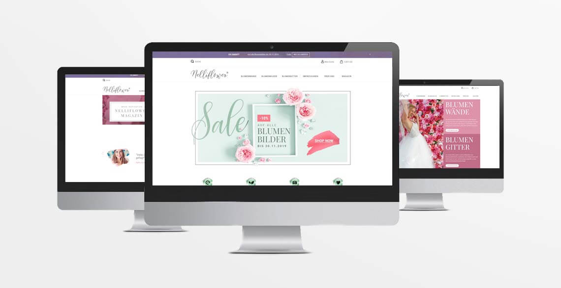 Woo Commerce Online-Shop Nelliflower, Bonn